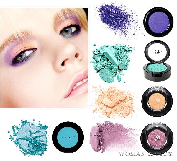тени для макияжа 2012
