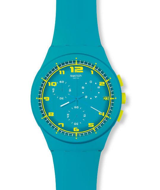 часы из коллекции Chrono Plastic