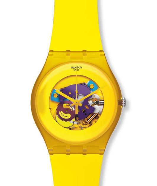 часы из коллекции New Gent Lacquered