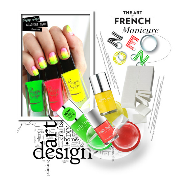 French-Manicure-Neon-by-g-iulias