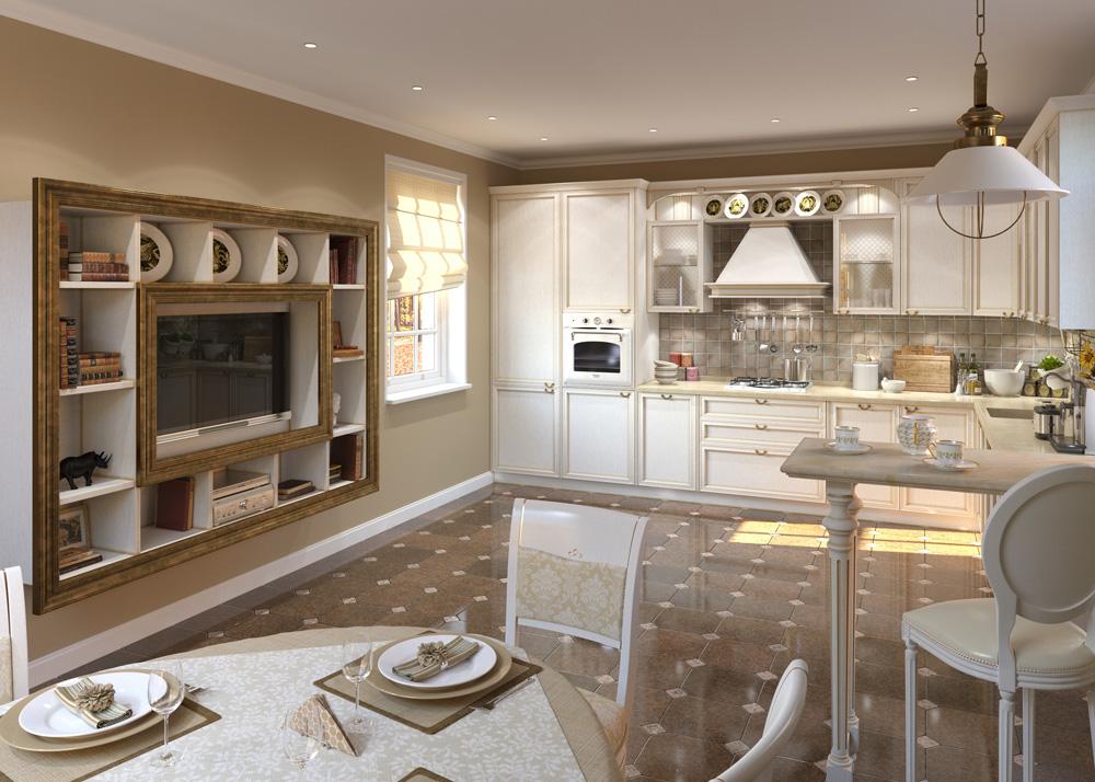 Кухня-столовая — тепло домашнего очага