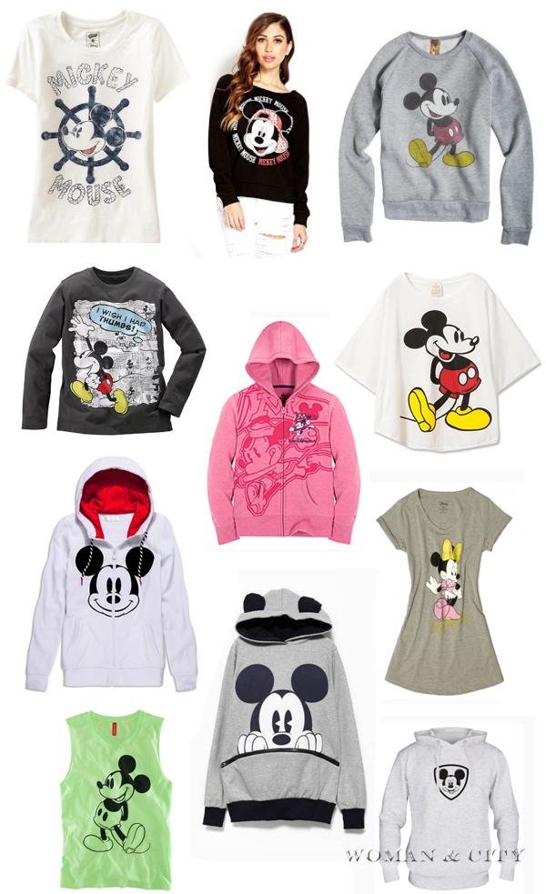 Модная одежда с Микки Маус